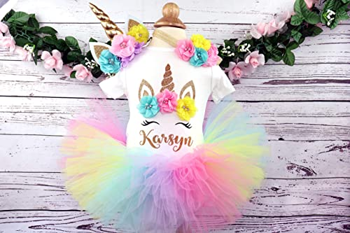 Unicorn Birthday outfit unicorn first birthday girl outfit unicorn birthday dress 1st birthday outfit unicorn tutu unicorn birthday shirt