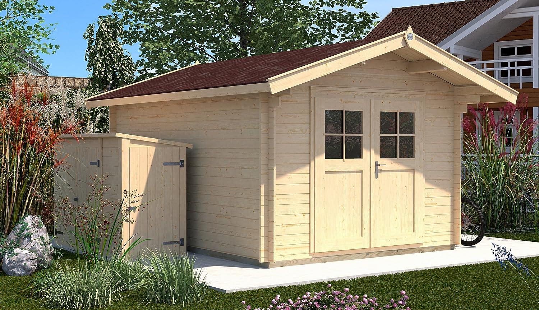weka gartenhaus 112 gr 3 vordach 60 cm online kaufen. Black Bedroom Furniture Sets. Home Design Ideas
