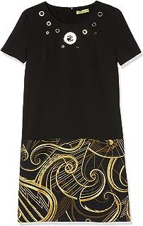 Versace Jeans ED2HRB448-E899, Robe Femme, Noir (Nero E899), L ... e7f78357ce7
