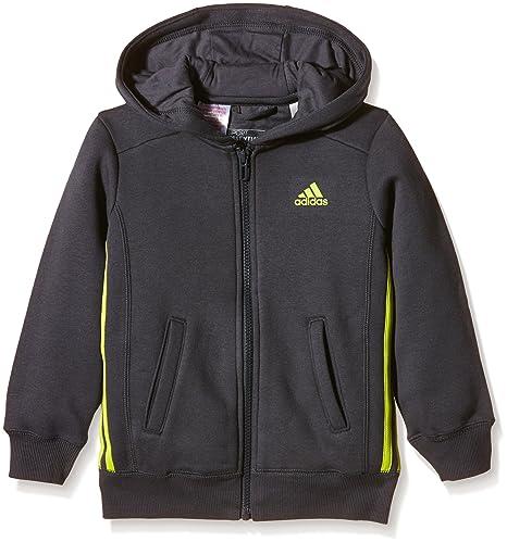 5 À 6 Jeune Veste Bandes Capuche Garçon Adidas Essentials Ans 3 n8AxqpzY5w