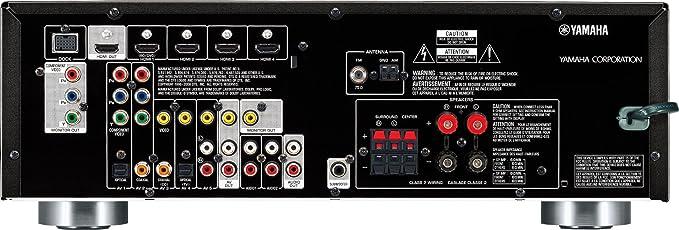 amazon com yamaha rx v367bl 500 watt 5 1 channel av receiver rh amazon com yamaha receiver rx-v367 manual yamaha rx-v367 user manual