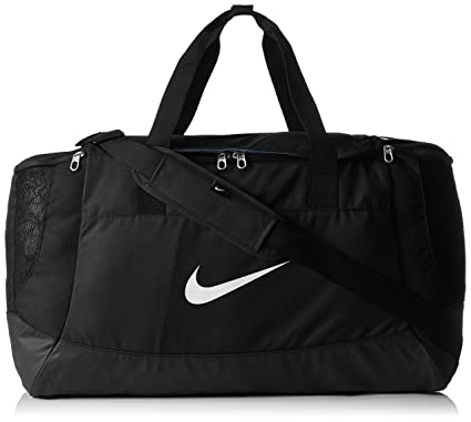 Nike Swoosh Team Club Large Sports Holdall - Black d236cd81105ee