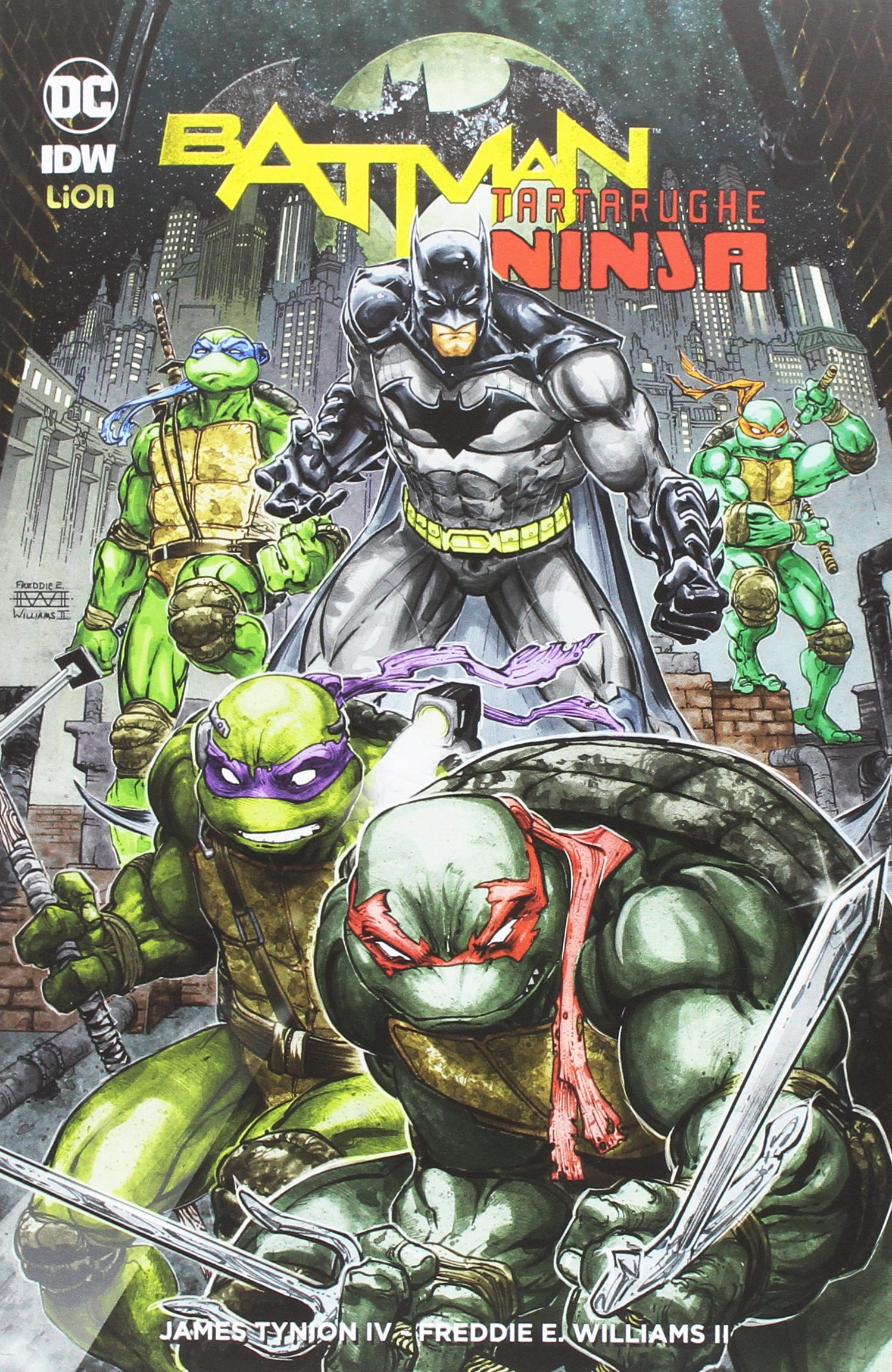 Batman. Tartarughe ninja (DC Miniserie): Amazon.es: James IV ...