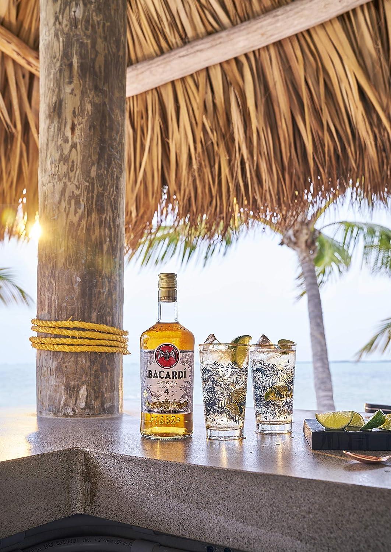 BACARDI 4 Years Old AÑEJO CUATRO Gold Rum 40% - 700 ml