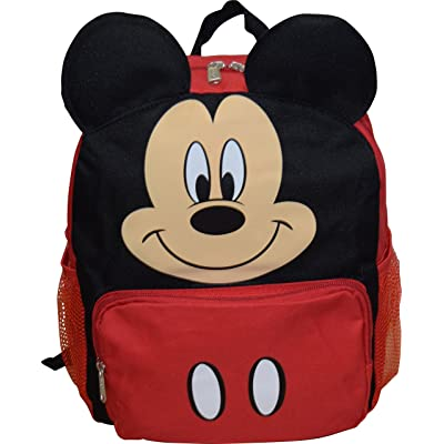 "Mickey Mouse Disney Big Face 14"" School Backpack 