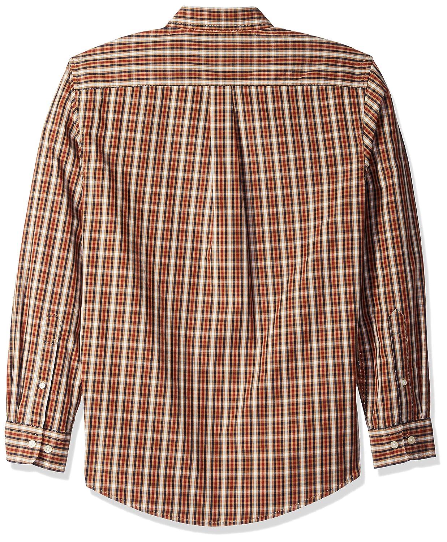 Polo Assn Mens Long Sleeve Classic Fit Plaid Shirt U.S