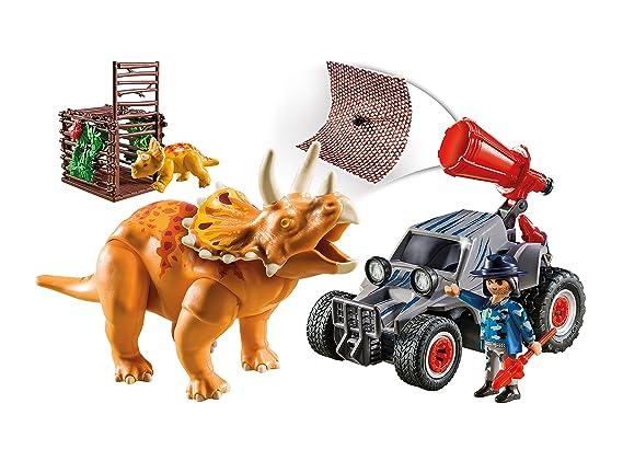 Playmobil 9434 Avec Bandit Tricératops gY6ybf7v