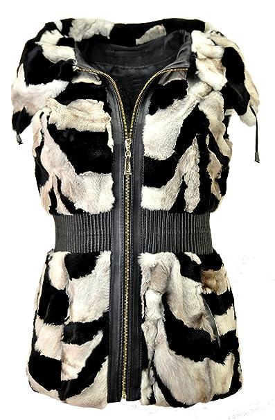 DX-Exclusive wear - Chaleco - Parka - para mujer  Amazon.es  Ropa y  accesorios 21dd29dbf57d