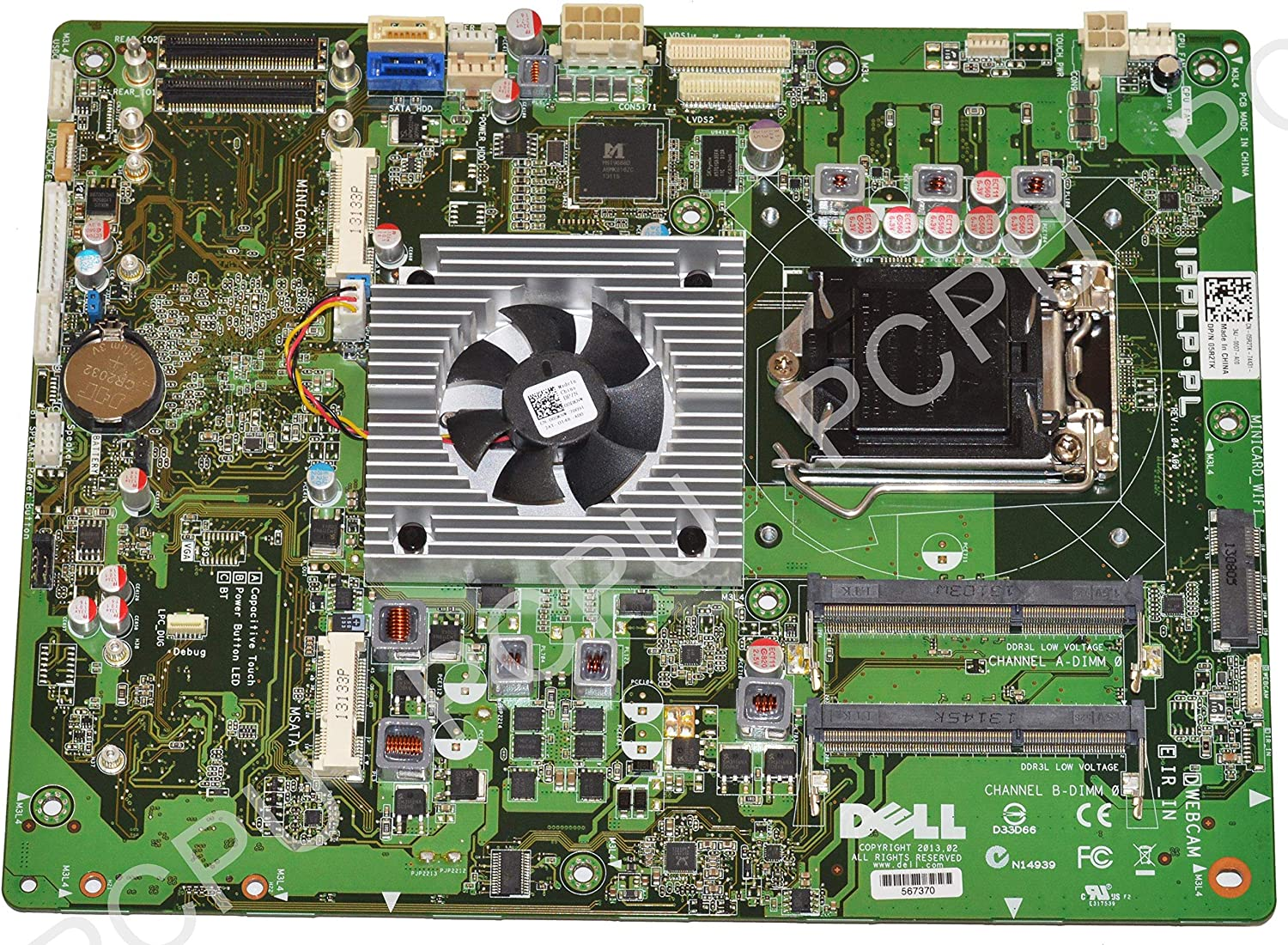 """5R2TK Dell XPS One 2720 27"""" AIO Intel Motherboard s115X"""