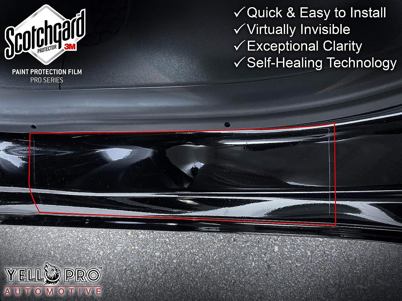 YelloPro Auto Tesla Model 3 Custom Fit 3M Scotchgard Trunk Bumper Protector PPF Clear Bra Paint Anti Scratch Guard Self Healing Decal Sticker Sheet Film Kit