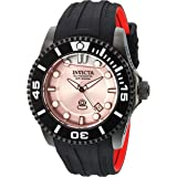 Invicta Men's Pro Diver Stainless Steel Automatic-self-Wind Diving Watch with Silicone Strap