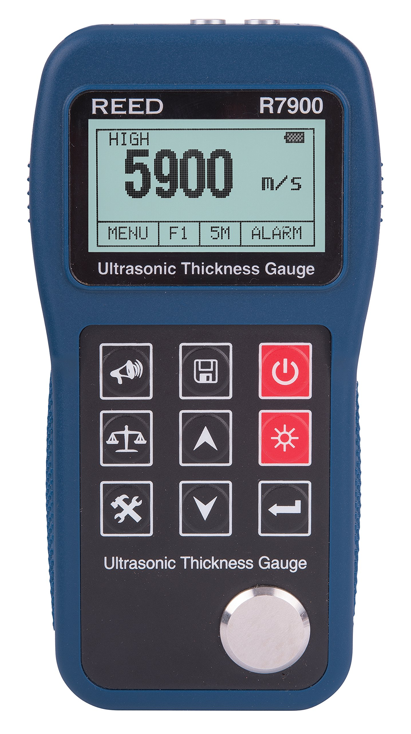 REED Instruments R7900 Ultrasonic Thickness Gauge, 11.8'' (300mm)