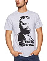 Trademark Hangover-Welcome To The Wolfpack Printed Men's Tee