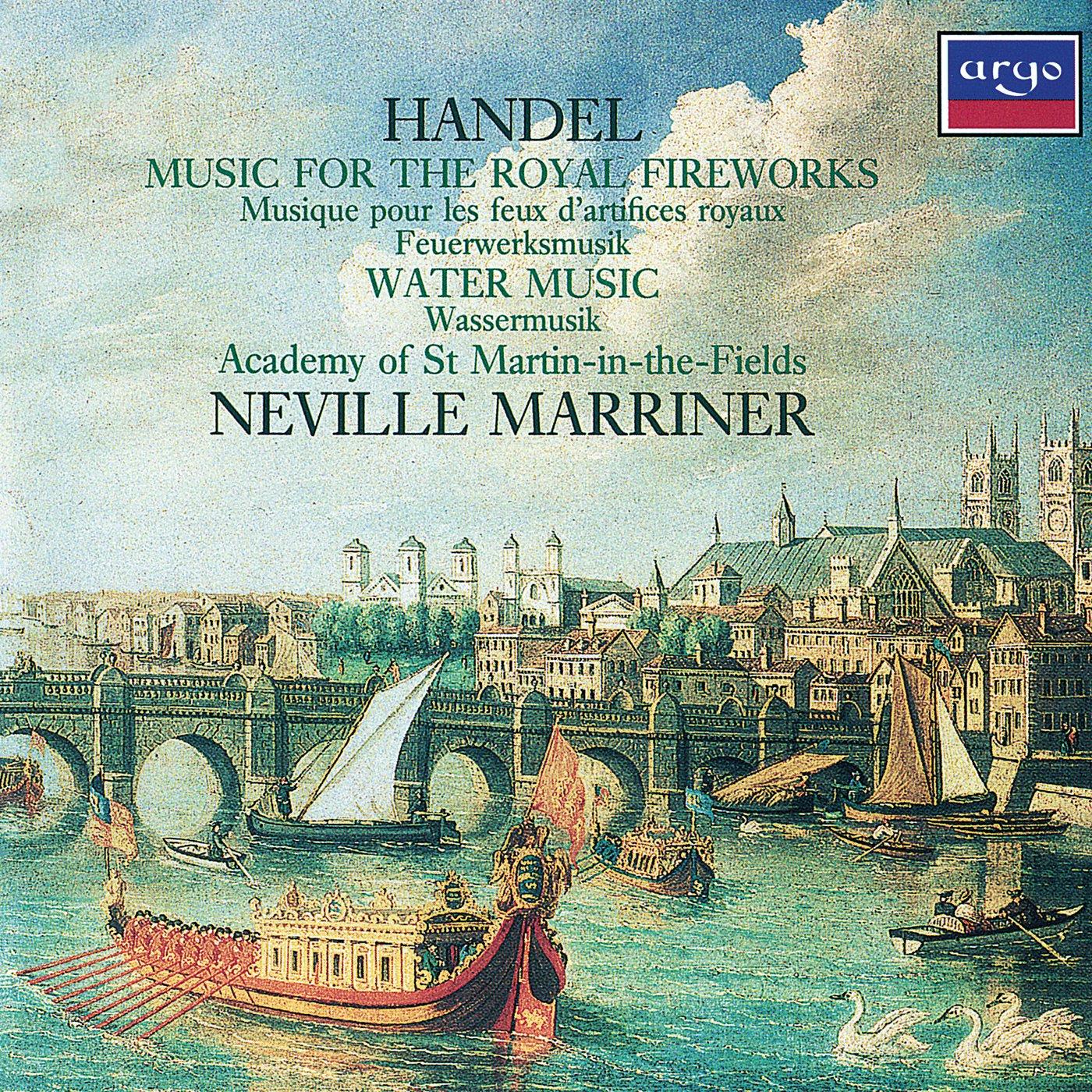 George Frideric Handel, Neville Marriner, Academy of St Martin-in ...