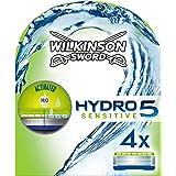 Wilkinson Sword - Testine Hydro 5 Sensitive per rasoio, confezione da 4