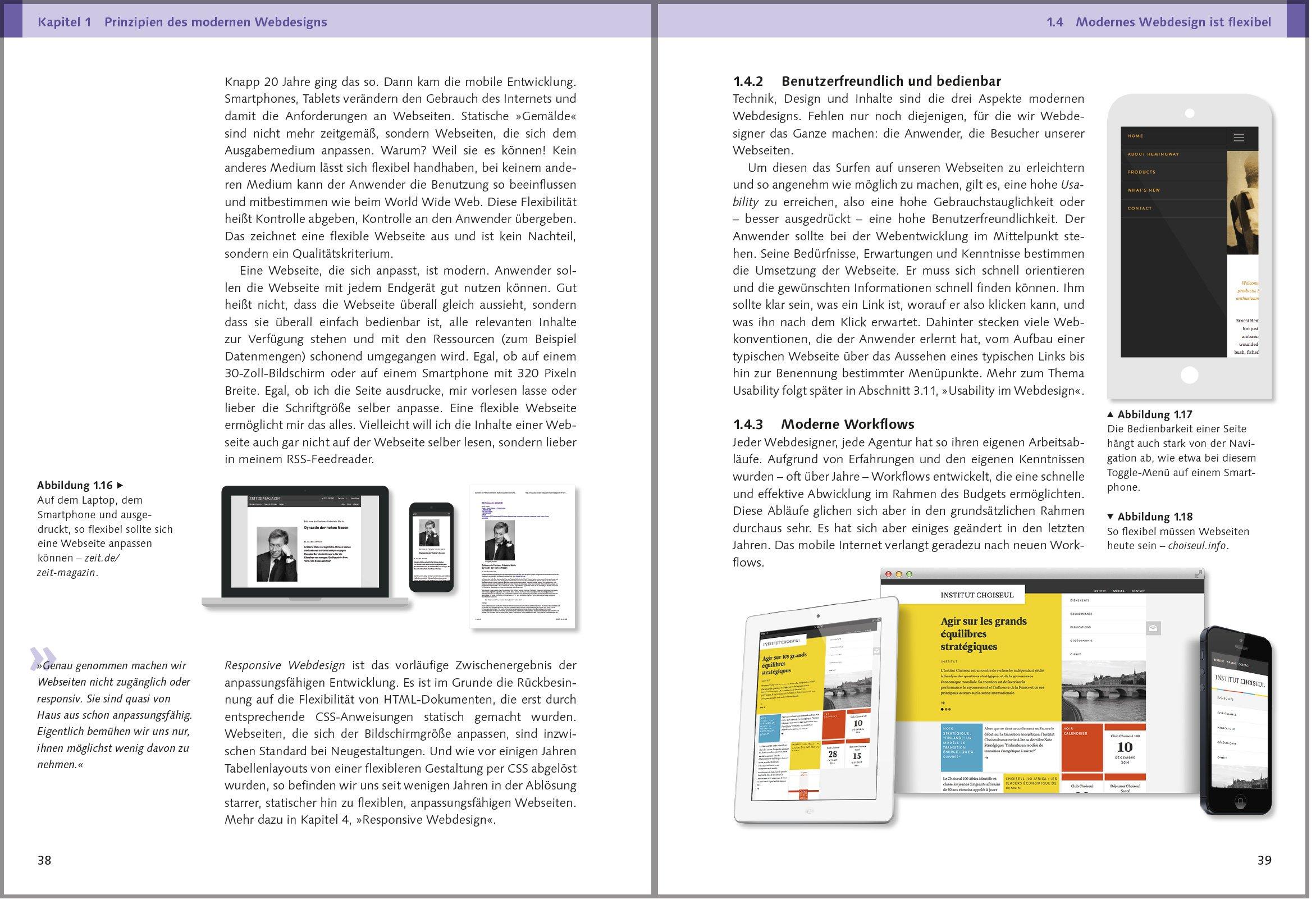 Webdesign: Das Handbuch zur Webgestaltung: Amazon.co.uk: Martin Hahn ...