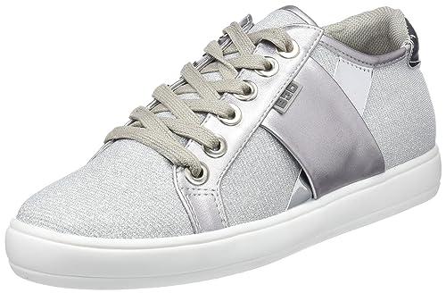 bass3d 41443, Zapatillas para Mujer, Plateado (Silver), 38 EU