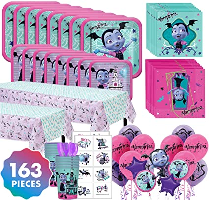 Amazon.com: Party City Vampirina Mega Ultimate Kit de fiesta ...