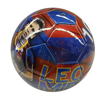 011594b218 Amazon.com  SUPERDAVES SUPERSTORE Leo Messi  10 Picture Soccer Ball ...