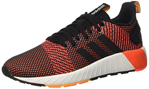 on sale 3f4b8 1e093 Adidas Mens Questar BYD Cblack, Ftwwht, Solred Running Shoes-6 UKIndia