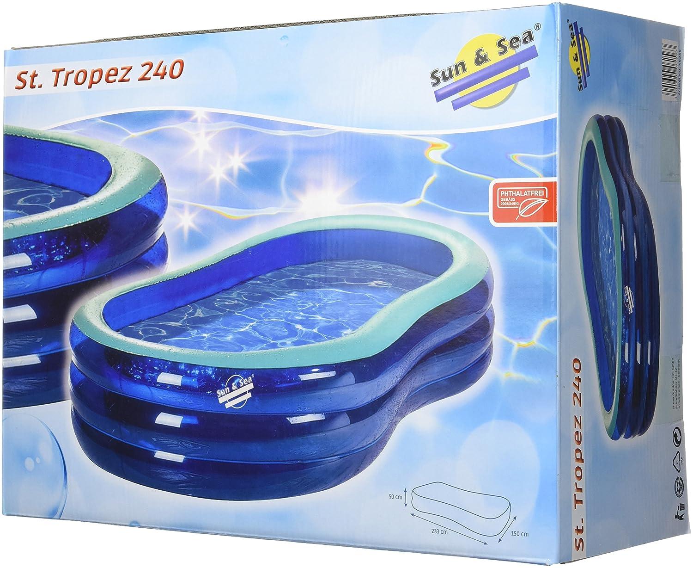 Simex Sport Badebecken St'Tropez 240, blau/mint, 46256