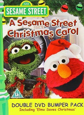 A Sesame Street Christmas Carol.Sesame Street Christmas Carol Elmo Saves Christmas Double