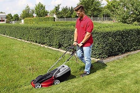 Einhell GC-EM 1030 - Cortacésped eléctrico (1000 W, altura de corte 3 niveles | 30-70 mm , ancho de corte 30 cm, hasta 300m² de jardín, 25L de ...