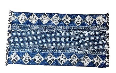 iinfinize - Alfombra Decorativa de 100% algodón con diseño ...