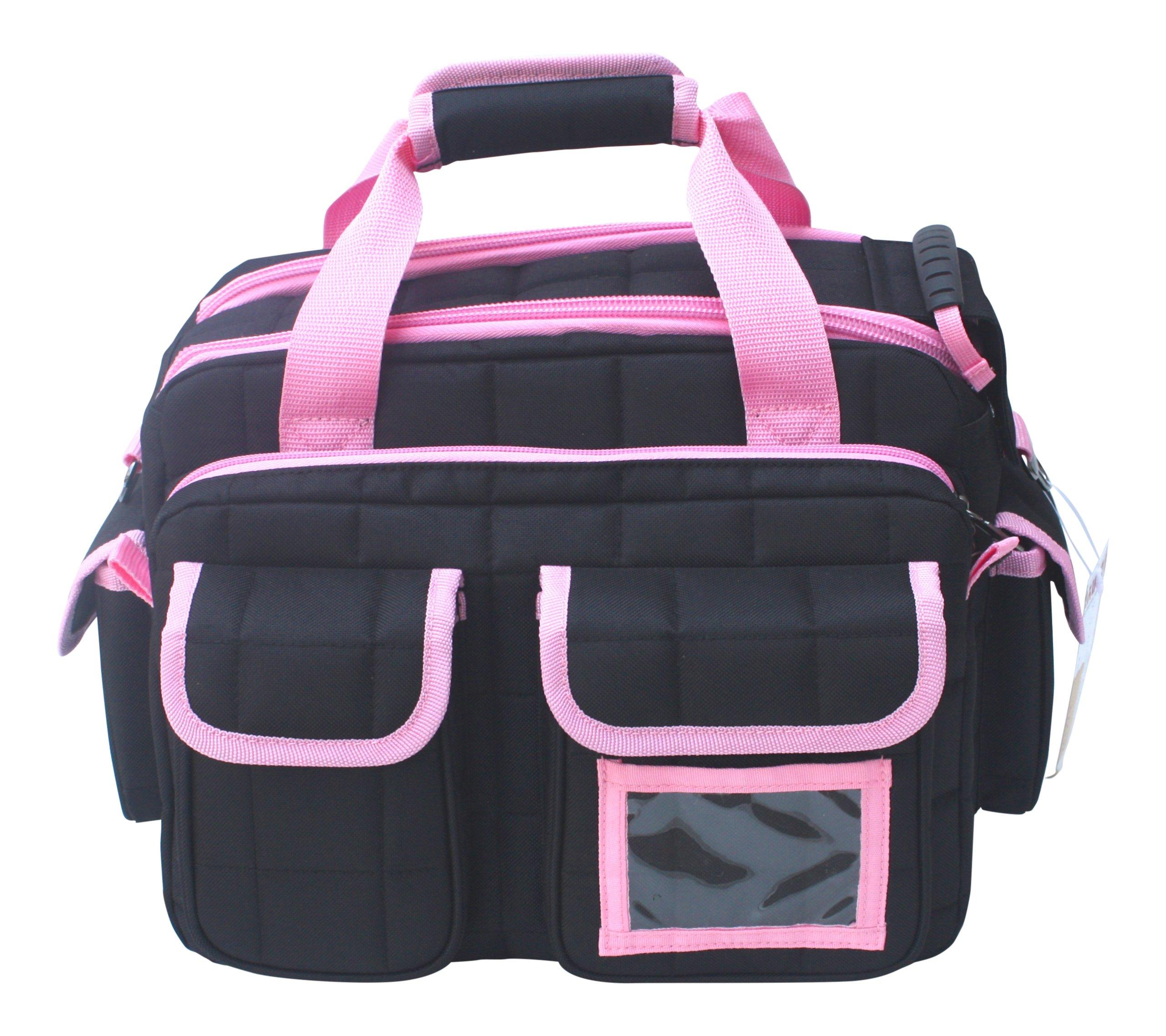 Explorer Tactical 12 Pistol Padded Gun and Gear Bag Pink by Explorer