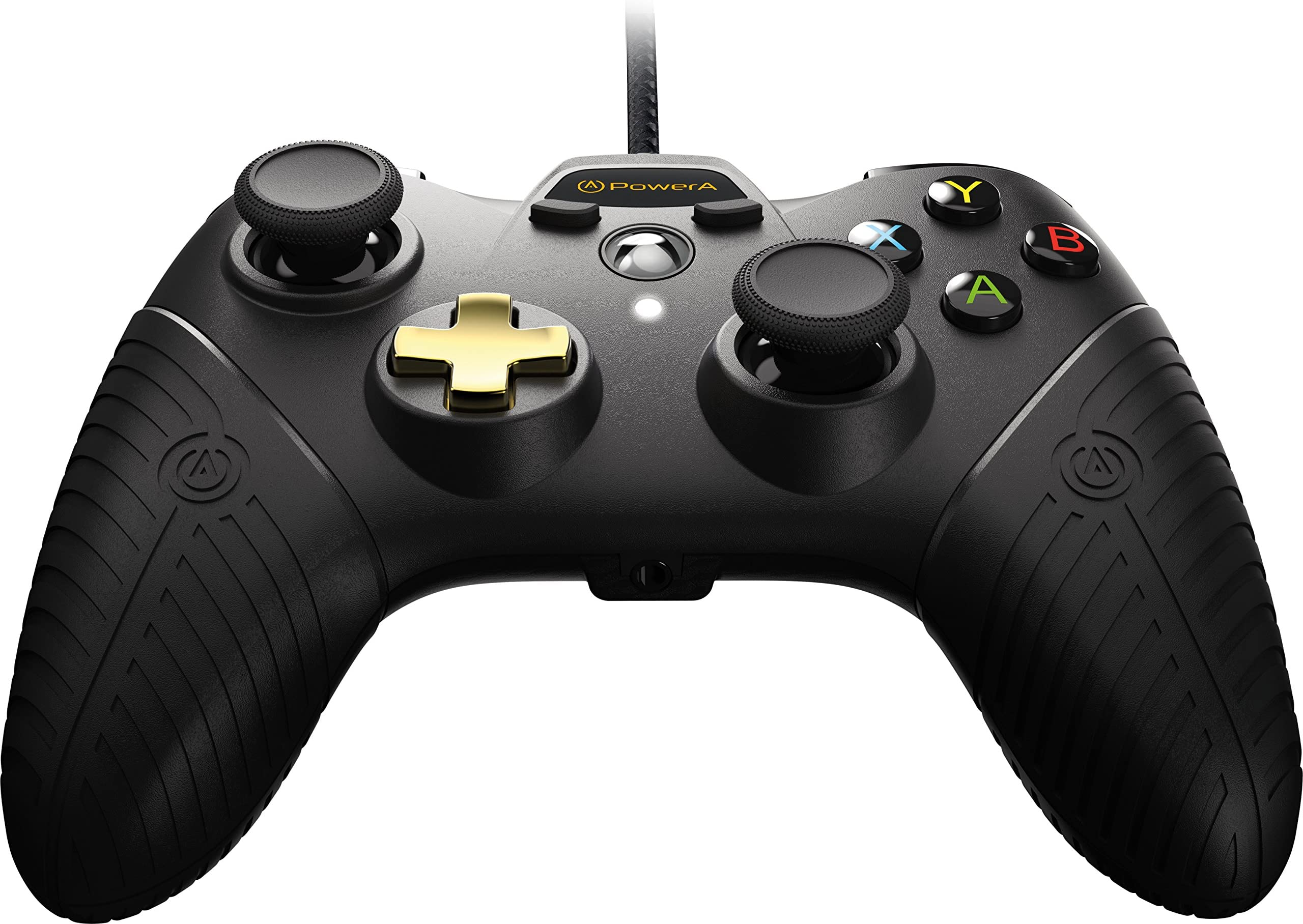 Amazon.com: PowerA Fusion Controller for Xbox One - Black/Gold ...