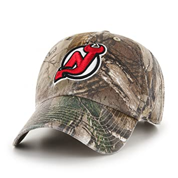 e84ae72a3b2c3 ... top quality 47 brand nhl new jersey devils realtree clean up adjustable  hat one size 2015d