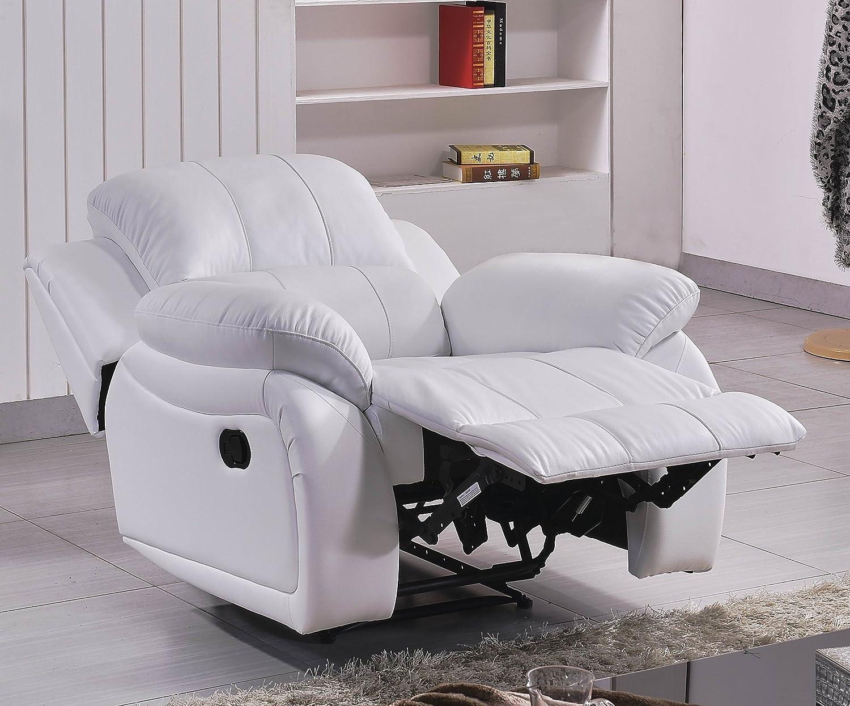 Leder Fernseh Sofa-Sessel Relaxsessel Fernsehsessel mit ...