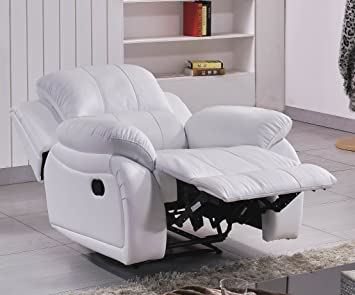 Leder Fernseh Sofa Sessel Relaxsessel Fernsehsessel Mit