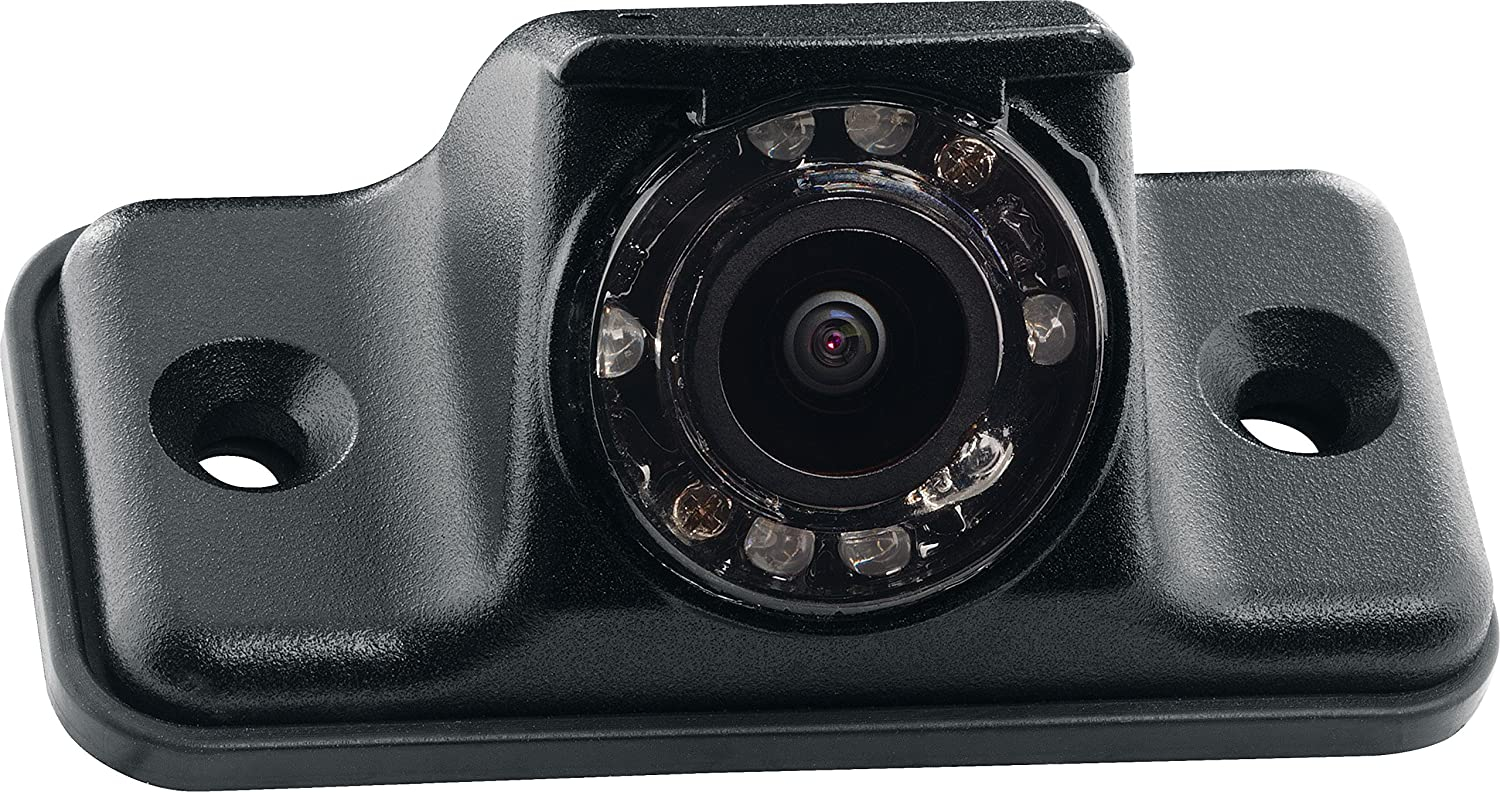 Black ASA Electronics 140/° Viewing Angle Rear Camera with LED Low-Light Assist Voyager VCMS140iB Color CMOS IR LED Camera