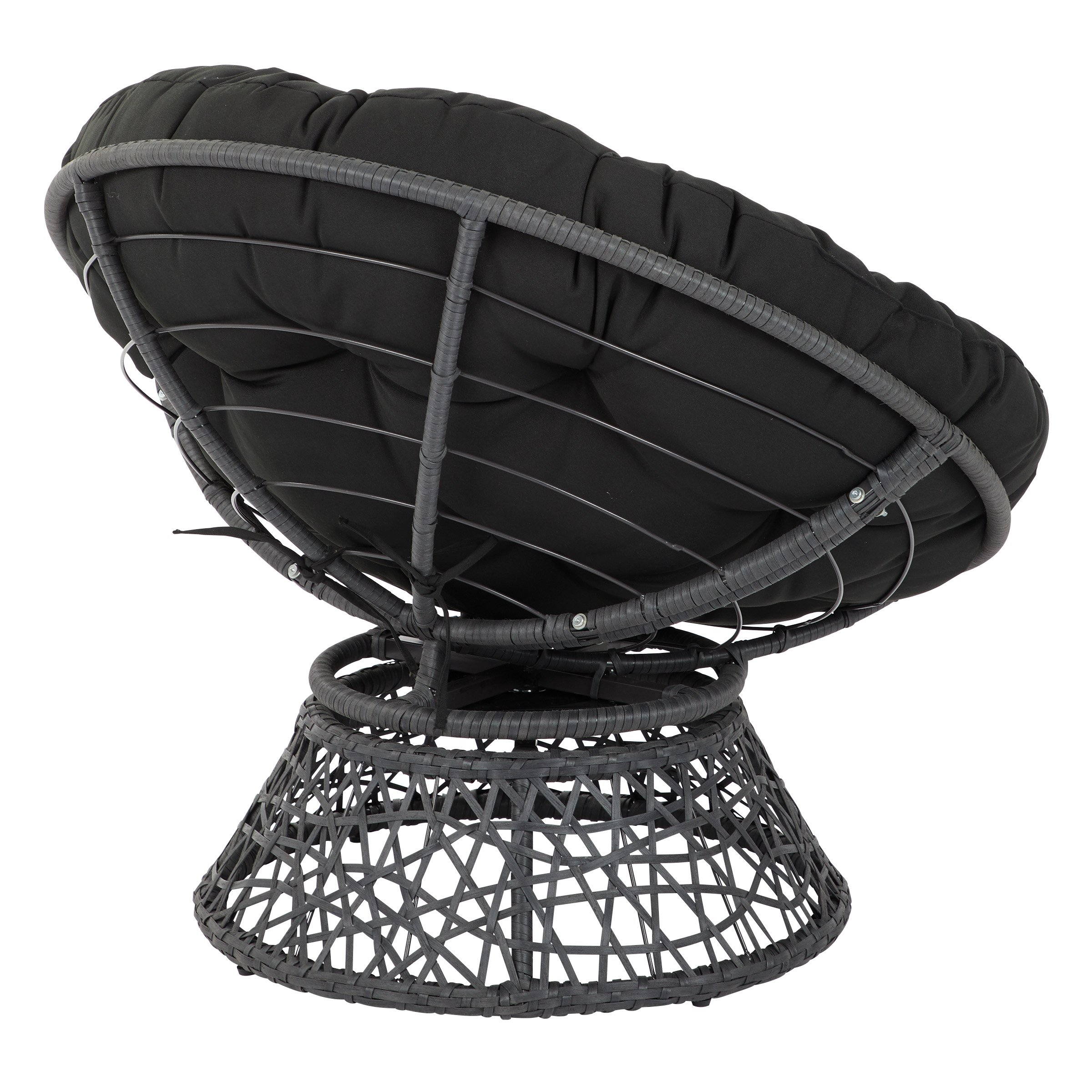 OSP Designs  Papasan Chair, Black by OSP Designs (Image #5)