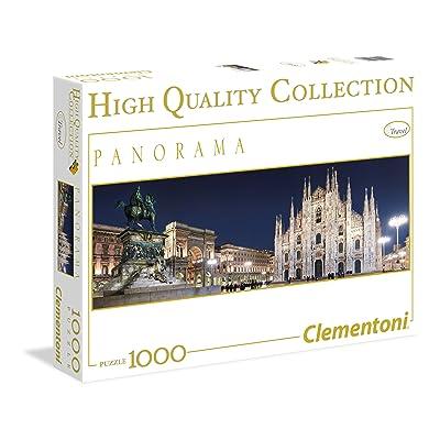 Clementoni Panoramic Milano Puzzle (1000-Piece): Toys & Games
