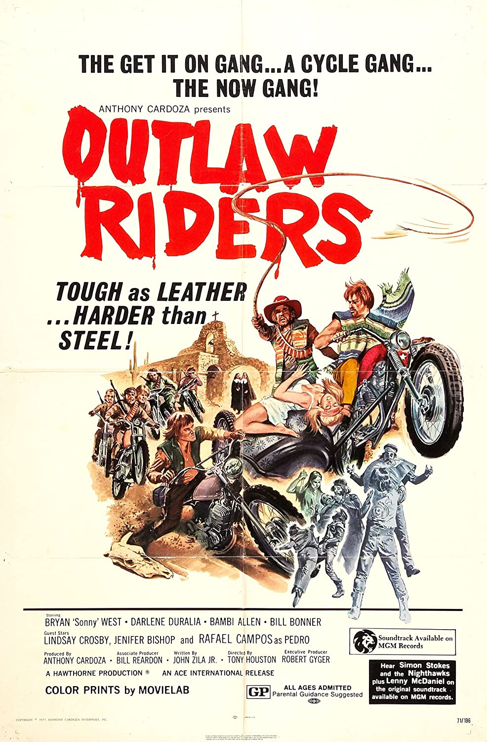 Outlaw Riders VHS