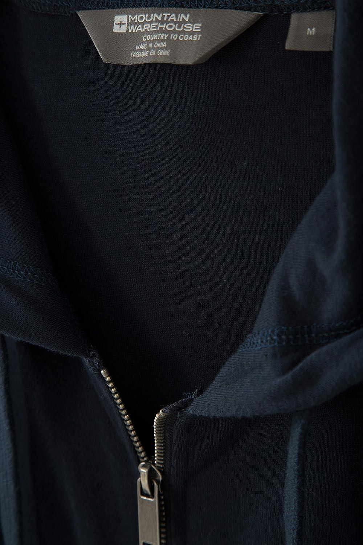 Mountain Warehouse Pursuit El Esfuerzo Embroma la Chaqueta del pa/ño Grueso y Suave Chaqueta de los ni/ños Micro Ligeros del pa/ño Grueso y Suave Breathable Naranja 2-3 A/ños Impresa