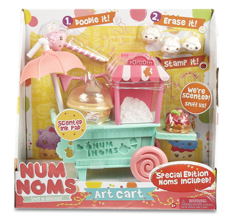 Num Noms Art Pop Cart Muñecos coleccionables y Playsets Bandai 542353: Amazon.es: Juguetes y juegos
