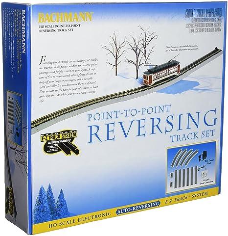 914cIOWP4dL._SX466_ amazon com bachmann trains nickel silver e z track reversing system