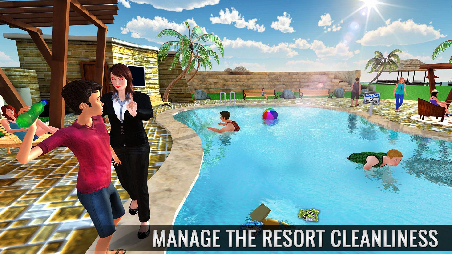 simulador de trabajo de gestión hotelera virtual juegos de hotel ...