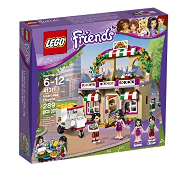 Lego Friends Pizzeria De Heartlake 41311 Amazon Es Juguetes Y