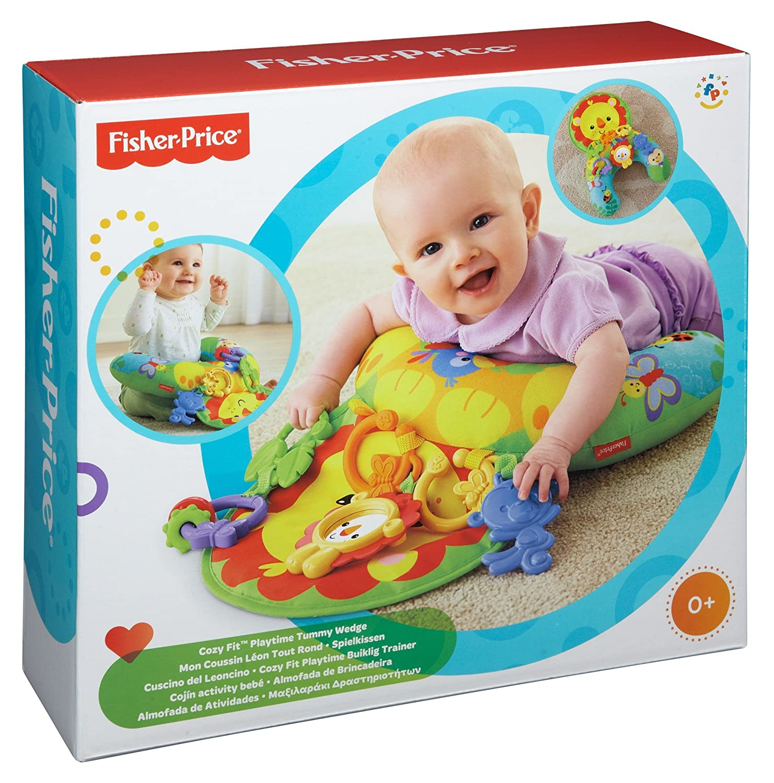 Fisher Price Tummy Wedge Green Amazon Baby