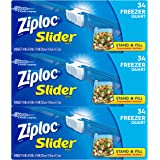 Ziploc Quart Slider Freezer Bags, 102 Count