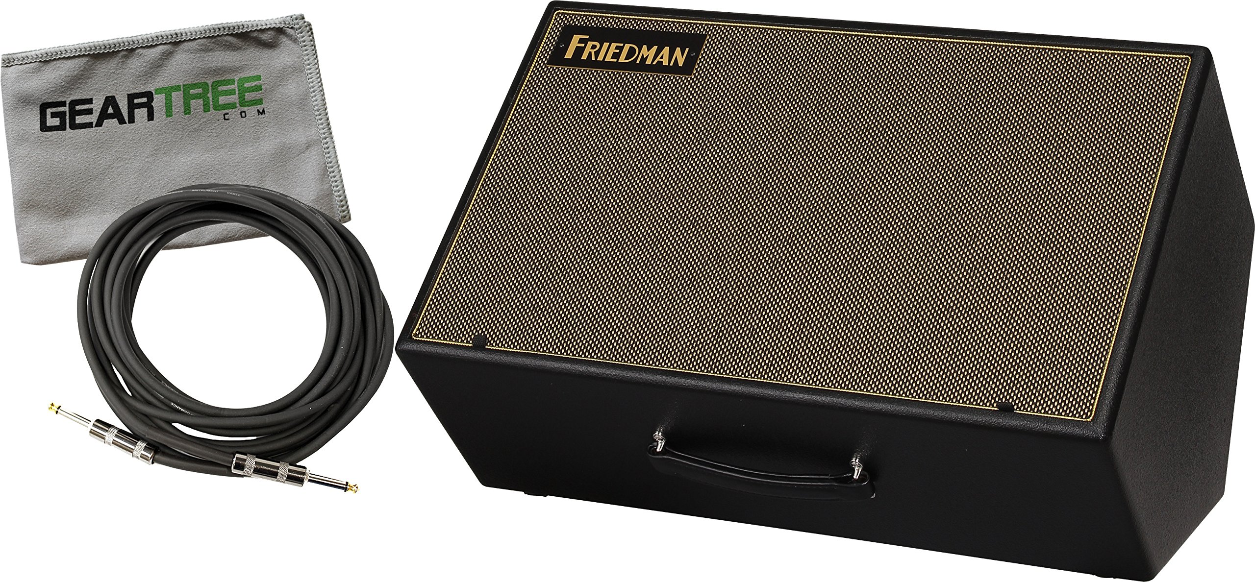 Friedman ASM-12 Active 12'' Two Way Amp Modeling Reference Monitor FRFR w/ Geartree Cloth and XLR Cable by Friedman