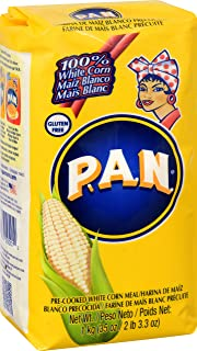 Harina P.A.N Pan Pre-Cooked White Corn Meal, 35 oz