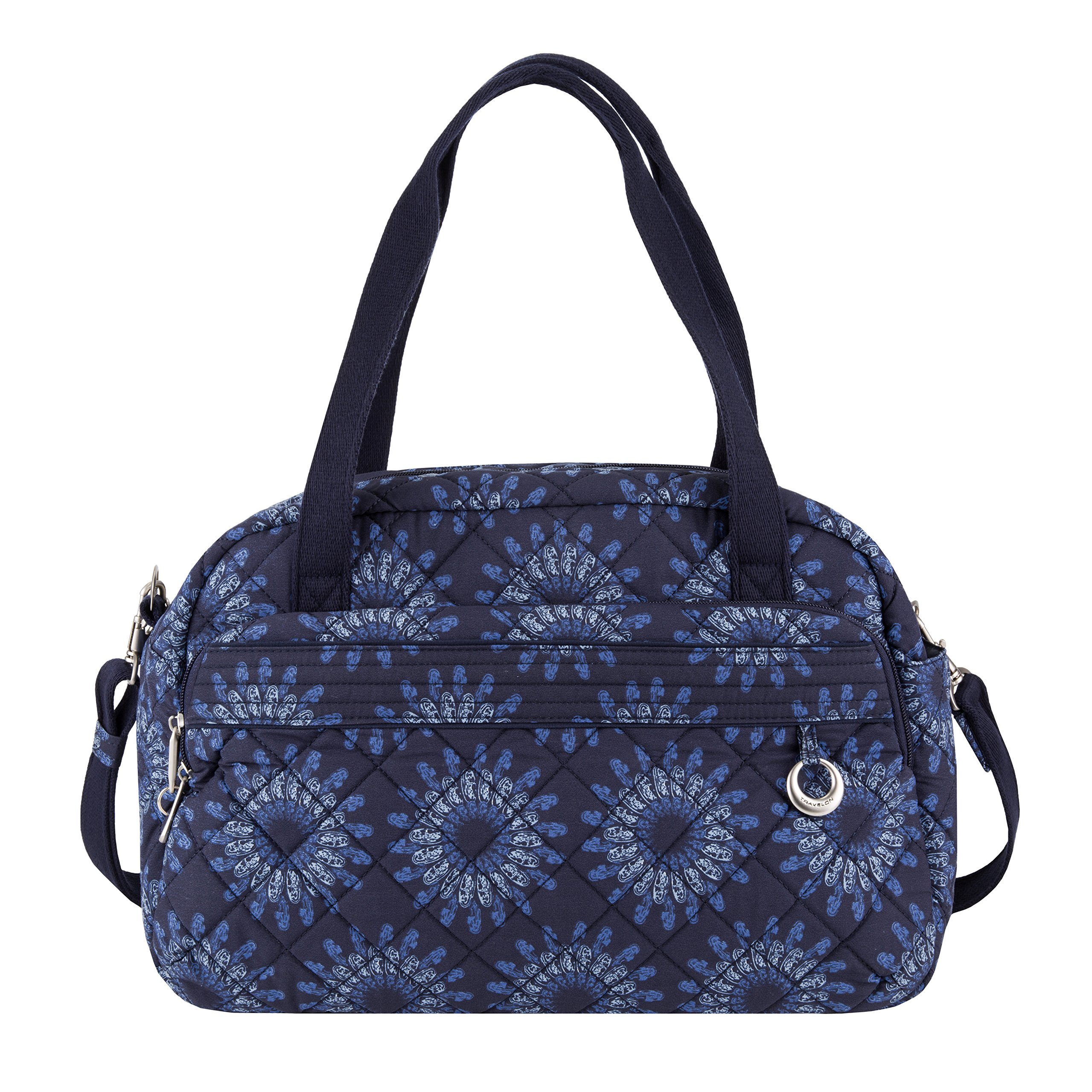 Travelon Women's Anti-theft Boho Weekender Bag, Geo Sunflower