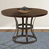 Amazon Com Counter Height Dining Table With Wine Rack