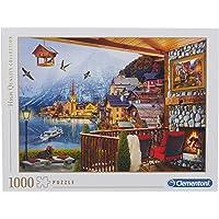 Clementoni 39481 Yetişkin Puzzle Hallstatt 1000 Parça