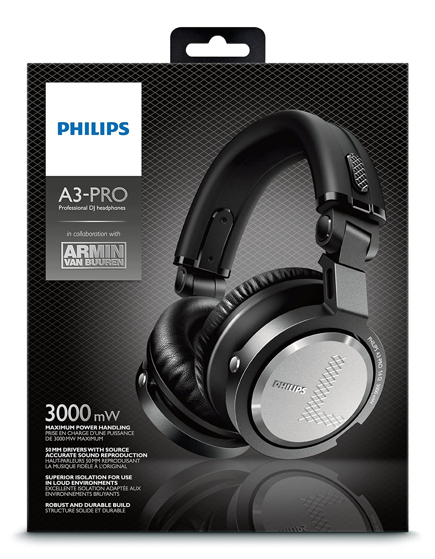 Amazon.com: Philips A3Pro A3-Pro Professional DJ Headphone in collaboration with DJ Armin van Buuren: Cell Phones & Accessories